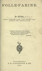 Cover of: Folle-Farine