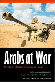 Cover of: Arabs at War | Kenneth M. Pollack