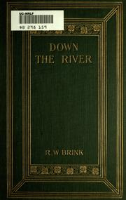 Cover of: Down the river