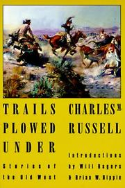 Cover of: Trails plowed under | Charles M. Russell