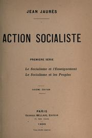 Cover of: Action socialiste