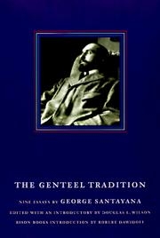 Cover of: The genteel tradition