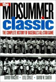 Cover of: The Midsummer Classic | David W. Vincent