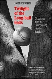 Cover of: Twilight of the Long-ball Gods