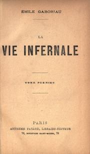 Cover of: La vie infernale
