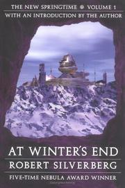 Cover of: At winter's end