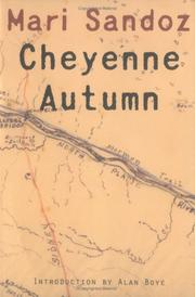 Cover of: Cheyenne autumn