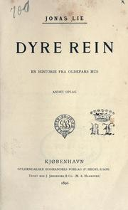 Cover of: Dyre Rein