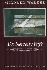 Cover of: Dr. Norton's wife