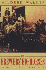 Cover of: The brewers' big horses