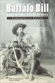 Cover of: Buffalo Bill Last of the Great Scouts