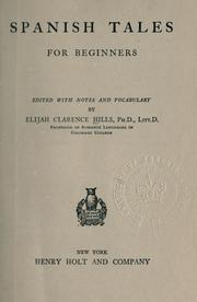 Cover of: Spanish tales for beginners