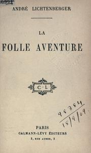 Cover of: La folle aventure