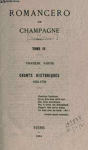 Cover of: Romancero de Champagne