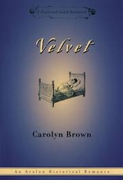 Cover of: Velvet: [a promised land romance]