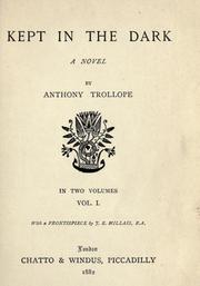 Cover of: Kept in the dark | Anthony Trollope