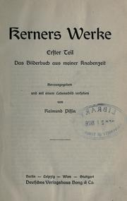 Cover of: Werke: 6 Teile in 2 Bd.