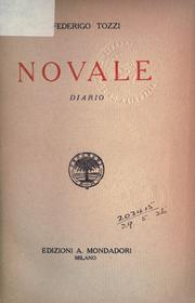 Cover of: Novale: diario.