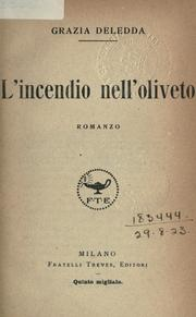 Cover of: L' incendio nell'oliveto