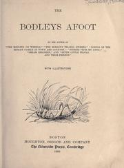 Cover of: The Bodleys afoot