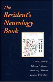 Cover of: The resident's neurology book