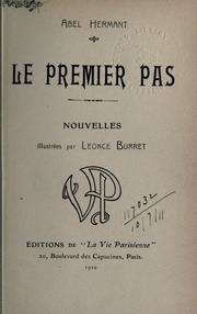 Cover of: Le premier pas