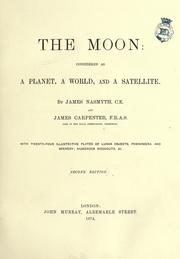 Cover of: The moon by Nasmyth, James