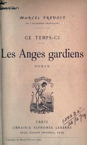 Cover of: Les anges gardiens