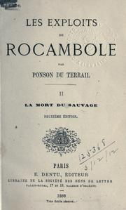 Cover of: Les exploits de Rocambole