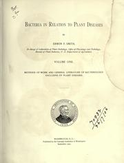 Bacteria in relation to plant diseases by Erwin F. Smith