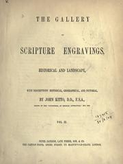 Cover of: The gallery of Scripture engravings