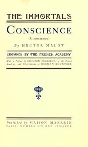 Cover of: Conscience (Conscience)