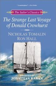 Cover of: The Strange Last Voyage of Donald Crowhurst (The Sailor