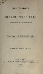 Cover of: Discussions on church principles