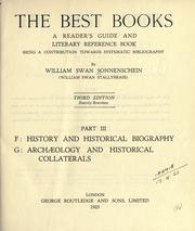Cover of: best books | Sonnenschein, William Swan