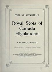 Cover of: The 5th regiment