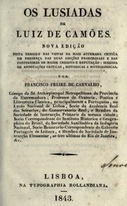 Cover of: Os Lusiadas