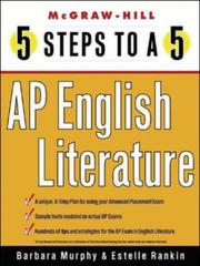 Cover of: 5 Steps to a 5 on the Advanced Placement Examinations | Estelle Rankin