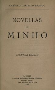 Cover of: Novellas do Minho