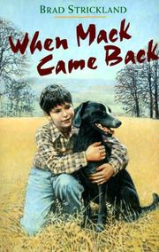 Cover of: When Mack Came Back