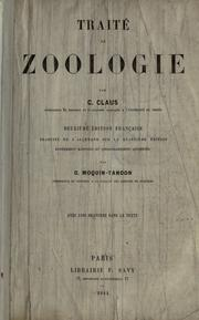 Cover of: Traité de zoologie