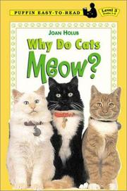 Cover of: Why Do Cats Meow? (Easy-to-Read, Dial)