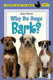 Cover of: Why Do Dogs Bark? (Easy-to-Read, Dial)