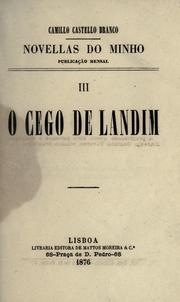 Cover of: O cego de Landim