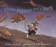Cover of: Three pebbles and a song