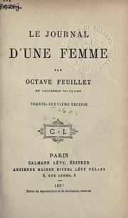 Cover of: Le journal d'une femme