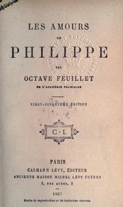 Cover of: Les amours de Philippe