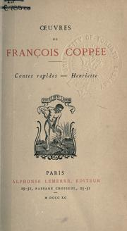 Cover of: Contes rapides