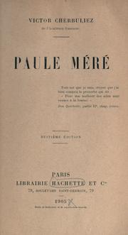 Cover of: Paul Méré