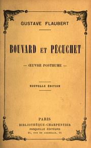Cover of: Bouvard et Pécuchet